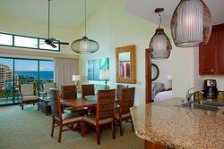 Ocean View Penthouse Villa - Dining Area