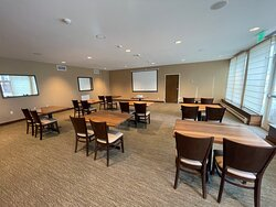 Class room seating in the Erin meeting room
