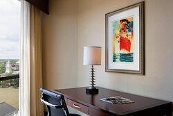 King Corner Room - Work Desk