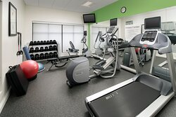 How about a work out in our Fitness Center