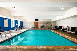 Relax poolside or take a dip, in our indoor heated pool