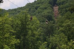 Zip Line Tour at Hidden Valley minutes to the hotel