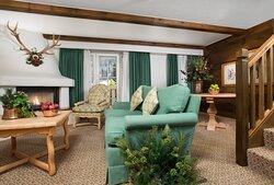 Golden Peak Suite Living Room