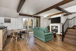 Golden Peak Bi Level Living Room