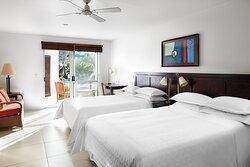 Double/Double Two Bedroom Lagoon Access Villa