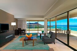 Penthouse Suite110 - Living Room