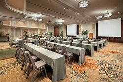 Grand Ballroom Meeting Setup
