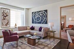 Overlook Suite - Living Room