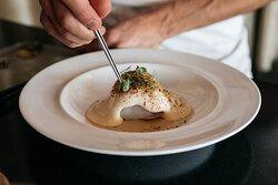 Restaurant Terrazza Danieli - Bacon-Wrapped Monkfish