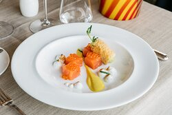 Restaurant Terrazza Danieli - Home-Marinated Salmon