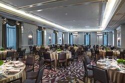 Crystal Ballroom - Banquet-Style Setup