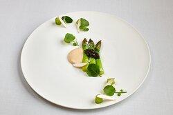 Restaurante Marqués de Riscal - Green Asparagus