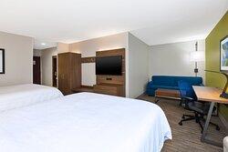 2 Queen Beds Suite Corner Nonsmoking