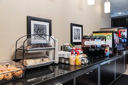 Start your day off right with our complimentary breakfast buffet.