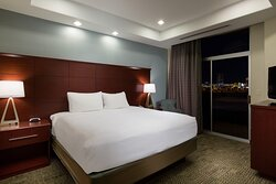 Our one bedroom suite allows for privacy between rooms.
