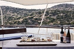 Cretan Wine Tasting Aboard the Traditional Caique
