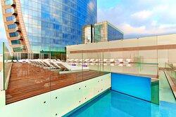 Sun Deck Infinity Pool & Terrace