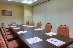 Need an intimate space for a board meeting we can provide that