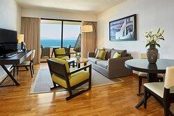 Aegean Suite – Living Room