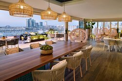 Siddharta Lounge by Buddha-Bar – Choose inside or outside.