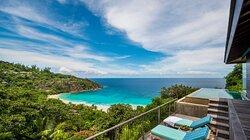 Hilltop Ocean View Villa view