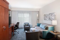 King Suite- Living Area