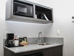 Junior Suite Mini Kitchenette