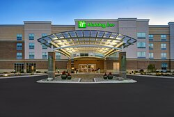 Exterior of the new Holiday Inn Grand Rapids North - Walker Hotel