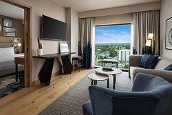 Luminary Suite - Living Room