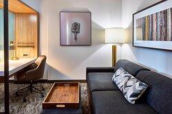 Queen/Queen Suite - Living Area