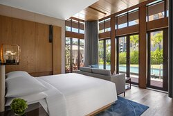 Superior Deluxe Garden Villa - Bedroom