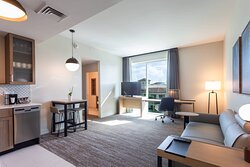 One-Bedroom King Suite – Living Room