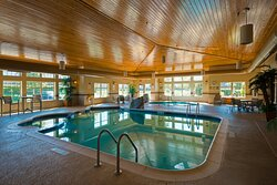 Swim or just relax at our pool and whirlpool