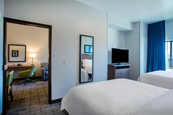 Play some games in our roomy one bedroom suite Sioux Falls - FUN