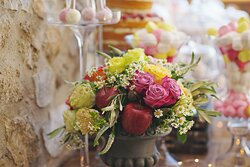 Flame - Bright Wedding Party Decoration
