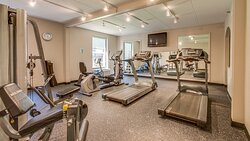 Work out just right in our fitness including a Universal Machine