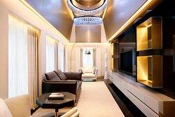 Katara Royal Suite - TV Room
