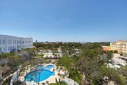 Pool & Garden Views