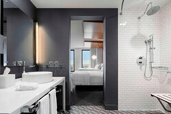 Accessible Double Guest Bathroom