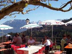 Beggasthof Hocheck bei Oberaudorf - Terrasse