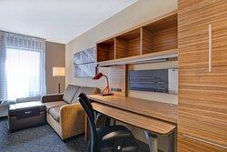Studio Suite – Living & Work Areas