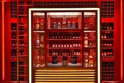 Fireworks Urban Kitchen - Whisky, Brandy & Wine Library