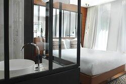 Queen Paris Style Guest Room