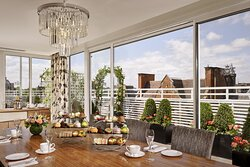 The St George's Penthouse - Afternoon Tea Setup
