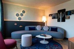 Mosaic Junior Suite - Living Area