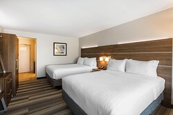 Our Two Queen Room is ideal for traveling with friends or family.