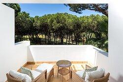 Guest Room Terrace - Resort View
