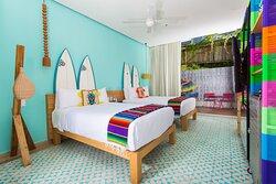 Double/Double Ocean View Guest Room