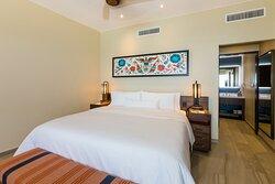 Two-Bedroom Larger Villa - King Bedroom