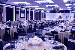 Dubai Ballroom Wedding Setup